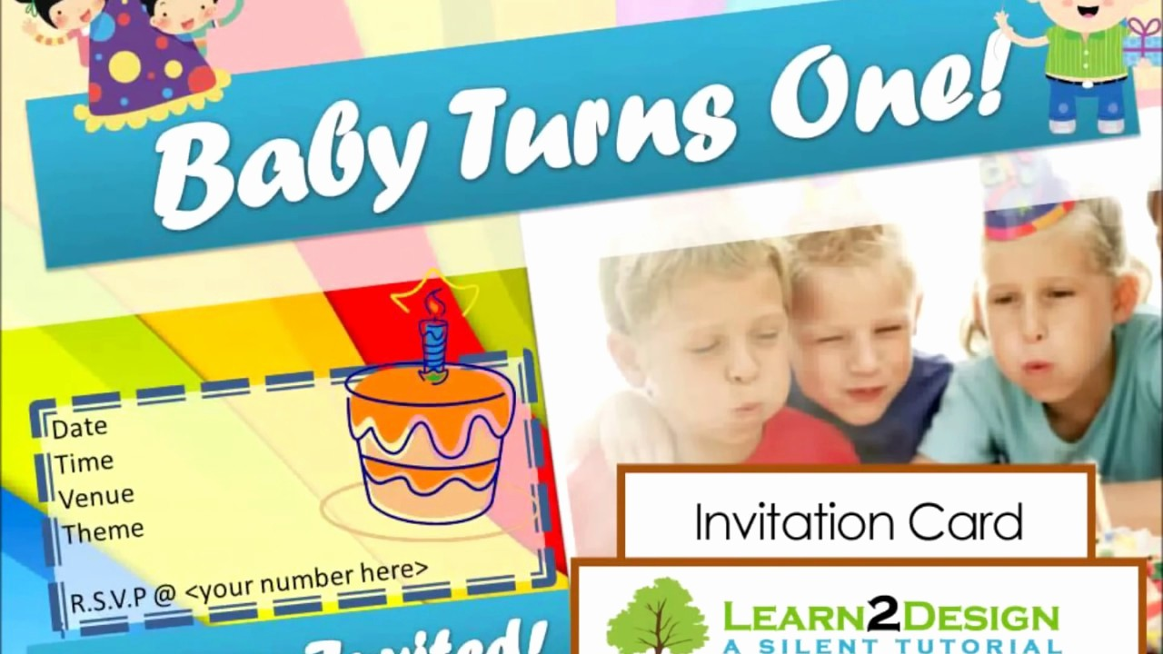 Make A Card In Word Awesome Magicfingers Birthday Invitation Card Using Microsoft