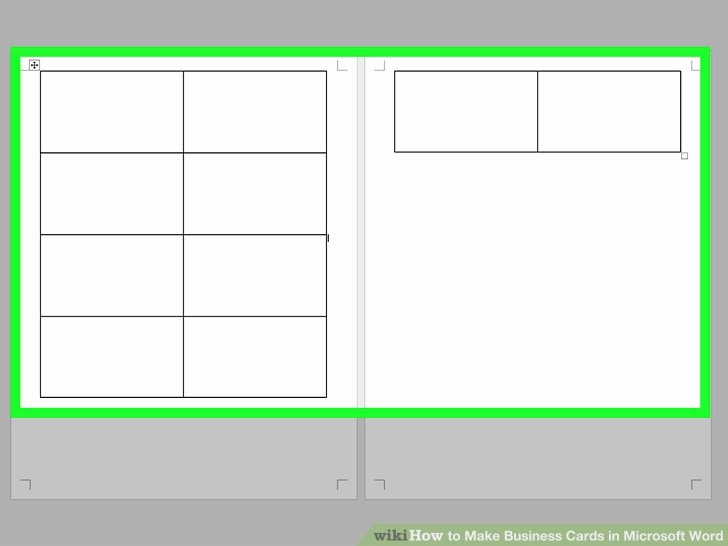 Make A Card In Word Elegant How to Make Business Cards In Microsoft Word with