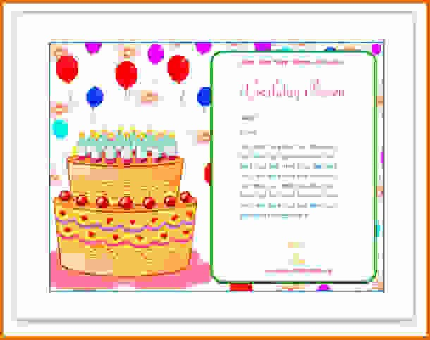 Make A Card In Word Fresh How to Make A Birthday Card On Microsoft Wordreference