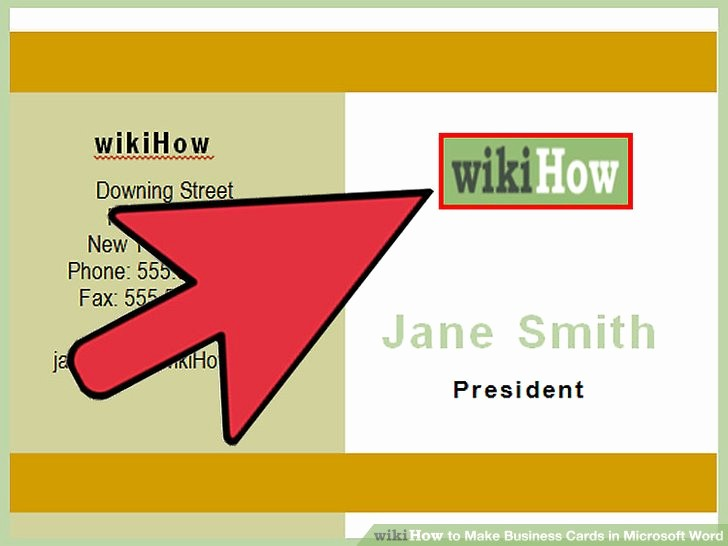 Make A Card In Word Luxury How to Make Business Cards In Microsoft Word with