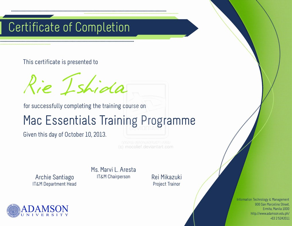 Make A Certificate Of Completion Beautiful 8 Best Of Create Free Certificate Pletion Free