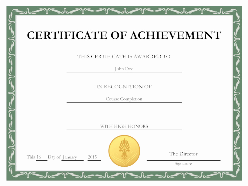 Make A Certificate Of Completion Beautiful Certificate Template software Try It Free and Create
