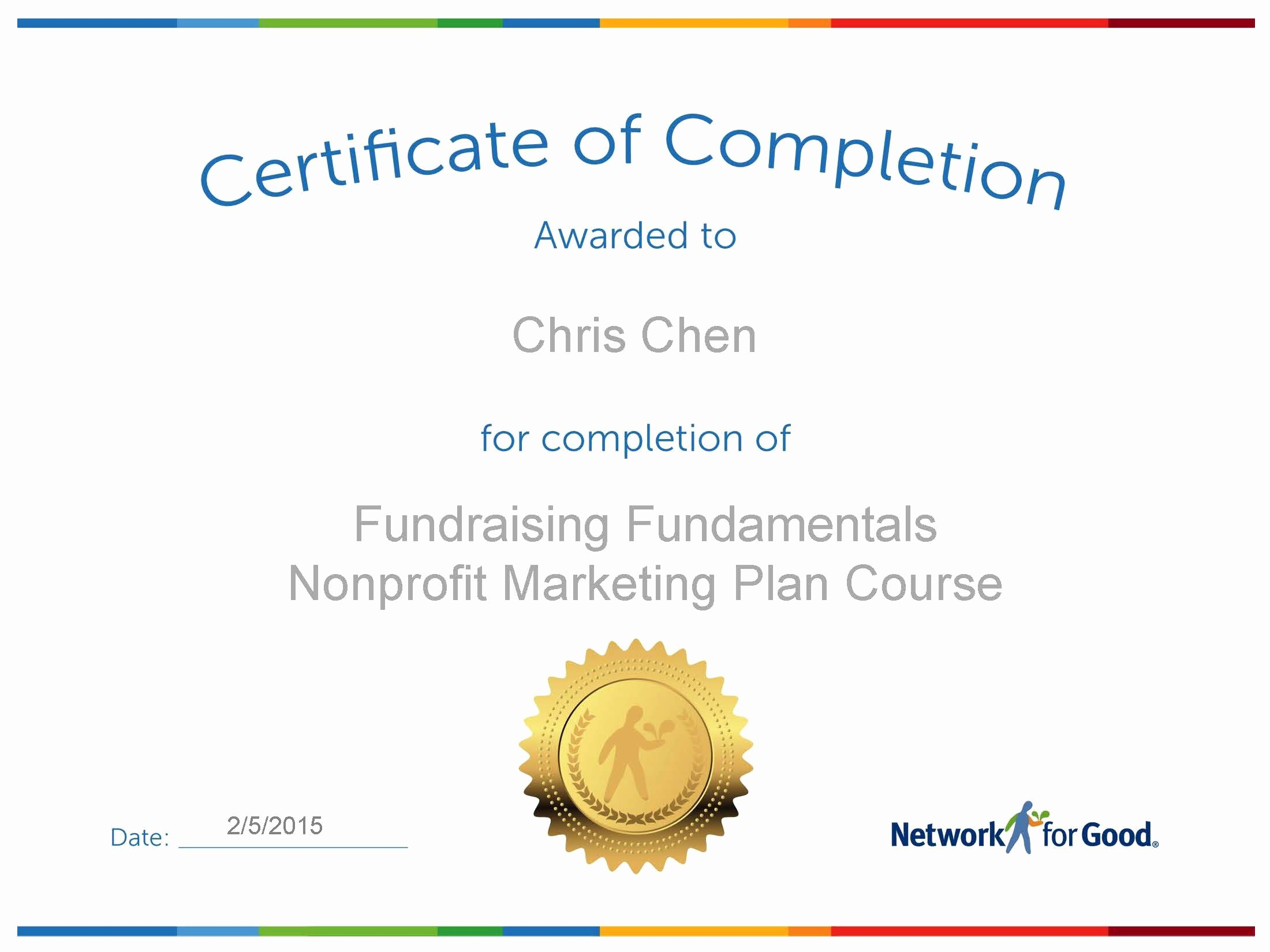 Make A Certificate Of Completion Elegant How to Create An Effective Marketing Plan Fundraising