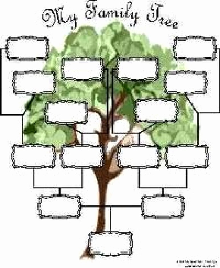Make A Family Tree Chart Beautiful Reaper List Activity Sections Family Genealogy