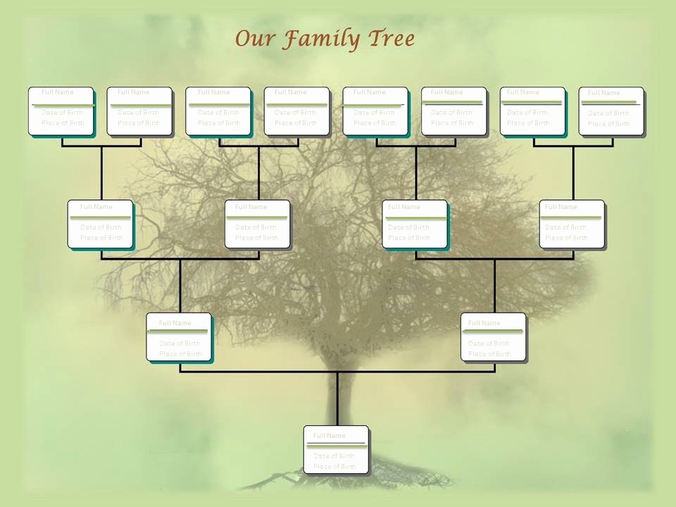 Make A Family Tree Chart Lovely Family Tree Chart Template Example