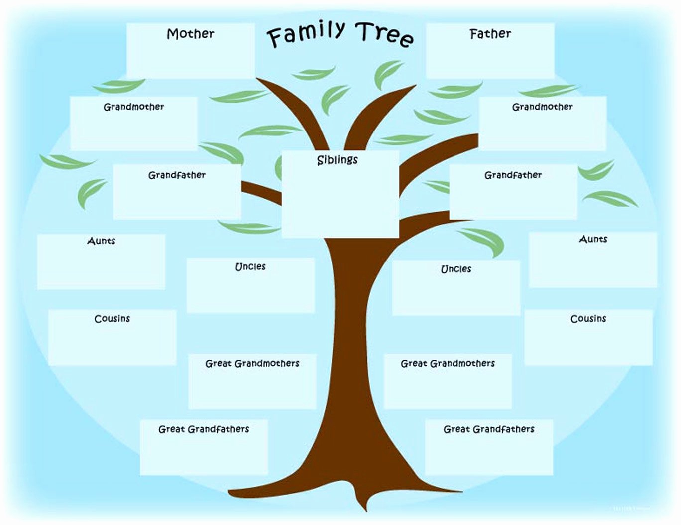 "Make A Family Tree Chart New Newspaper Activity ""the Year I Was Born"" Printable"