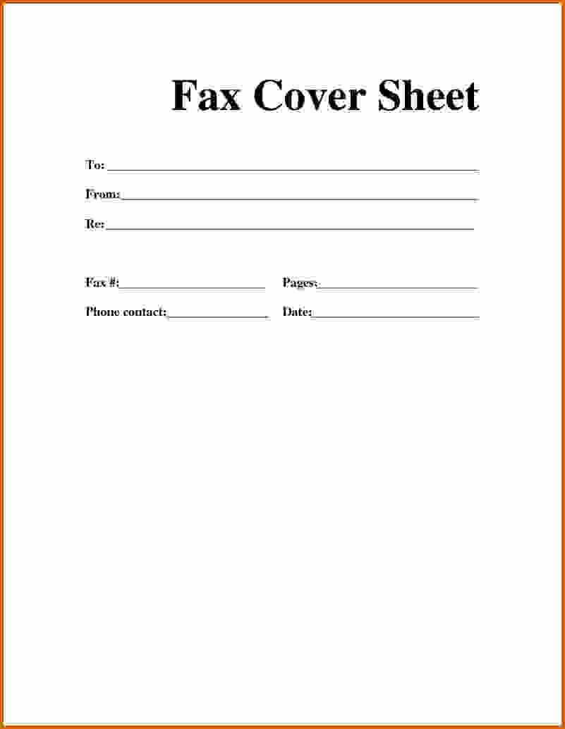 Make A Fax Cover Sheet Beautiful 9 How to Make Fax Cover Sheet