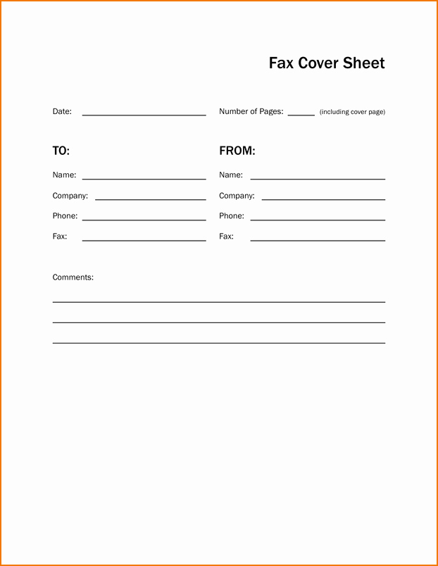 Make A Fax Cover Sheet Lovely 6 Simple Fax Cover Sheet