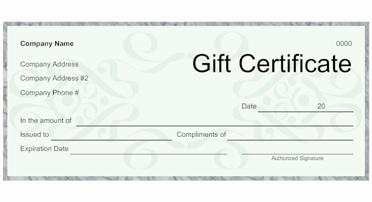 Make A Gift Certificate Free Elegant 9 Best Of Make Your Own Gift Certificates Free