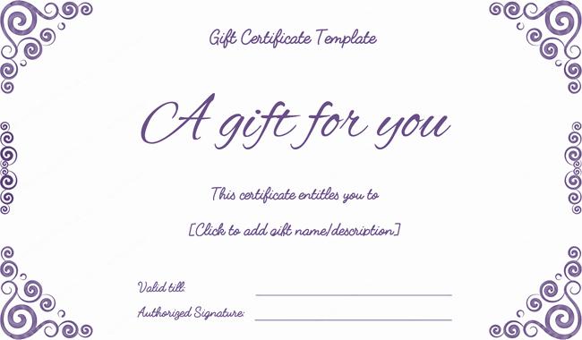 Make A Gift Certificate Free New Purple Free Printable T Certificates Pdf