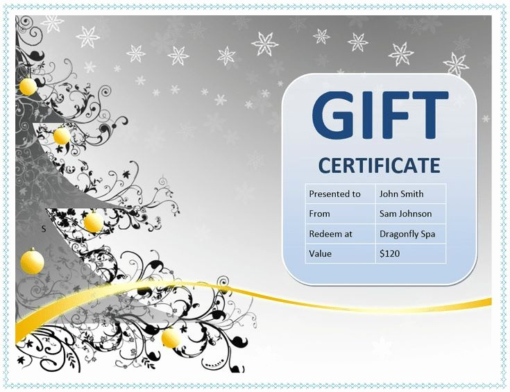 Make A Gift Certificate Free Unique 1000 Ideas About Free Certificate Templates On Pinterest
