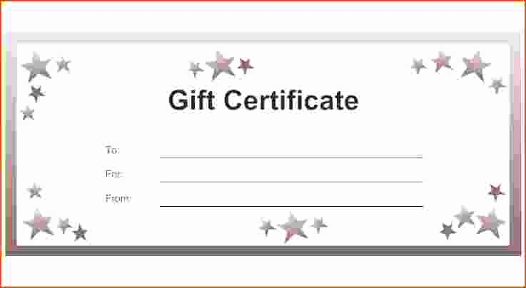 Make A Gift Certificate Free Unique 7 Make Your Own T Certificate Bookletemplate