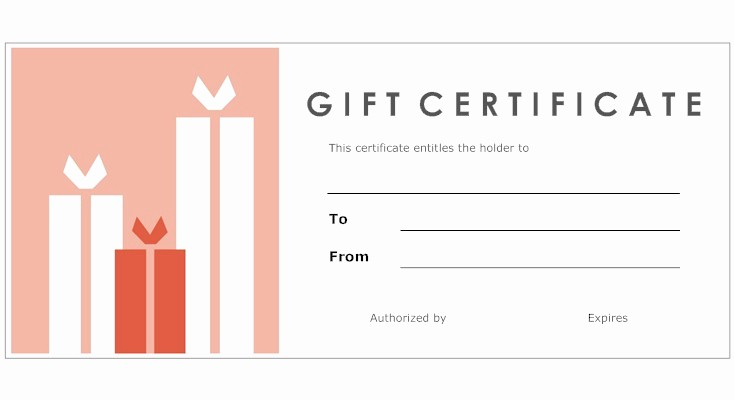 Make A Gift Certificate Free Unique 8 Best Of Print Your Own Gift Certificates Make