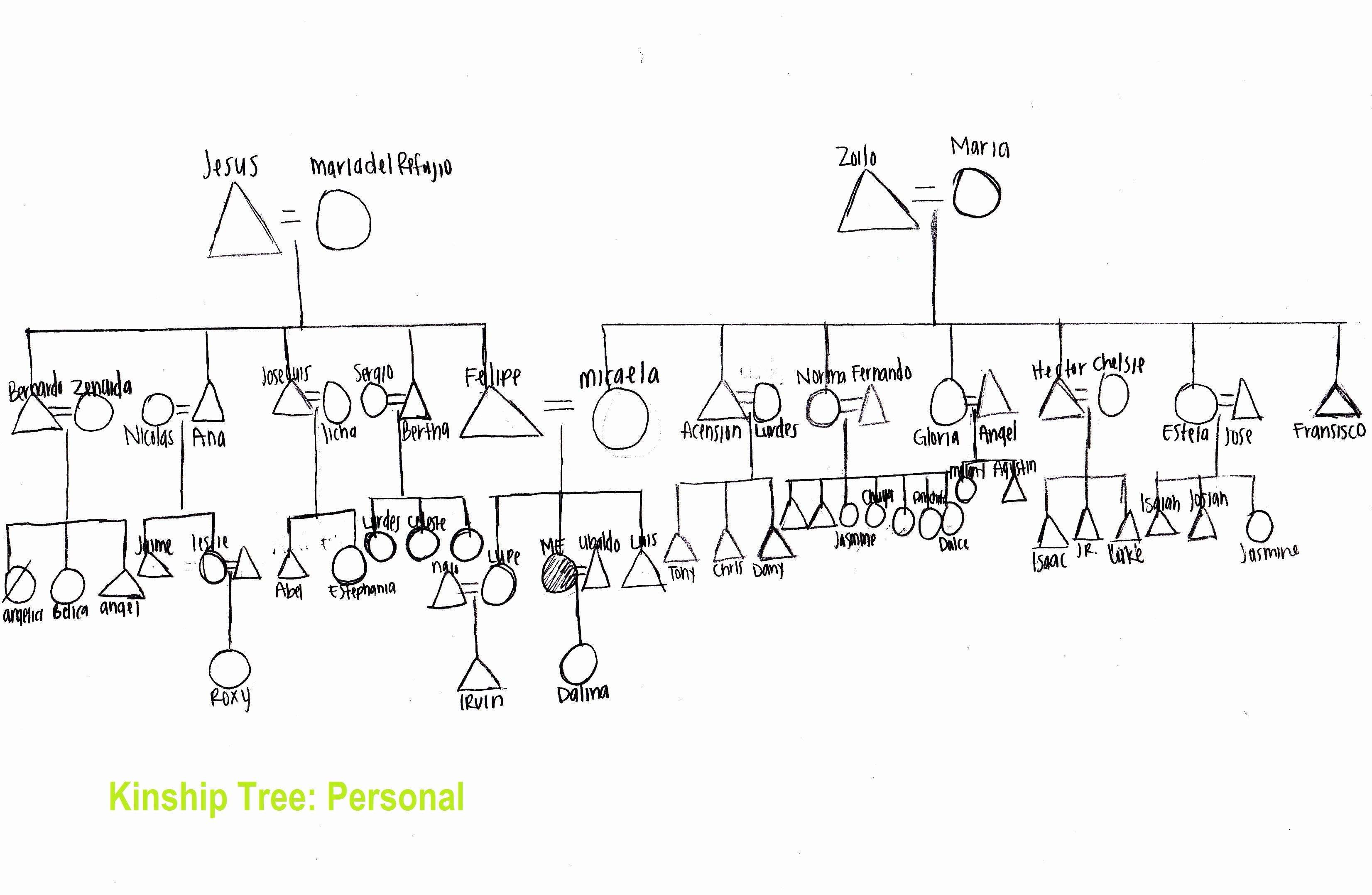 Make A Kinship Diagram Online Inspirational Avila & Casas Family Kinship Charts