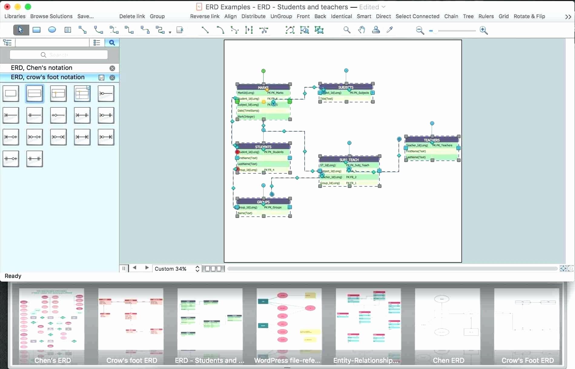 Make A Kinship Diagram Online Inspirational Diagram Entity Relationship Diagram software