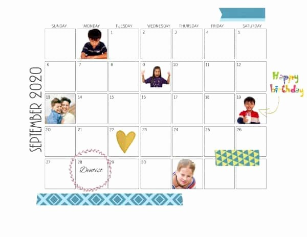 Make A Photo Calendar Free Best Of Free Calendar Maker