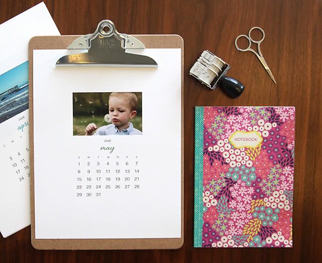 Make A Photo Calendar Free Fresh Free Printable 2016 Photo Calendar Great Diy T Idea