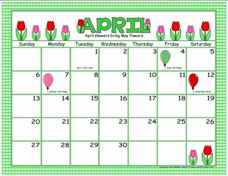 Make A Photo Calendar Free Fresh Print Own Calendar with S Aztec Line