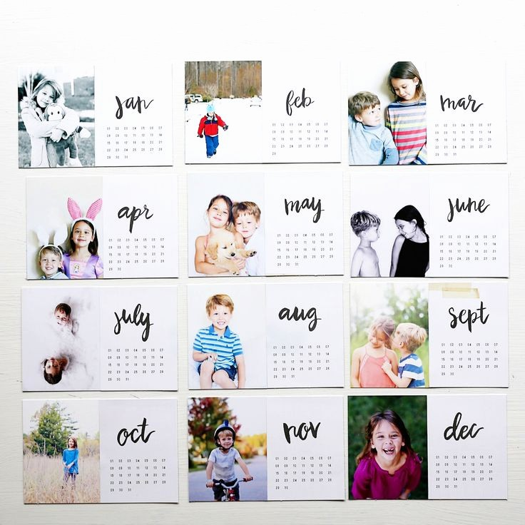 Make A Photo Calendar Free Inspirational 25 Best Ideas About Calendar On Pinterest
