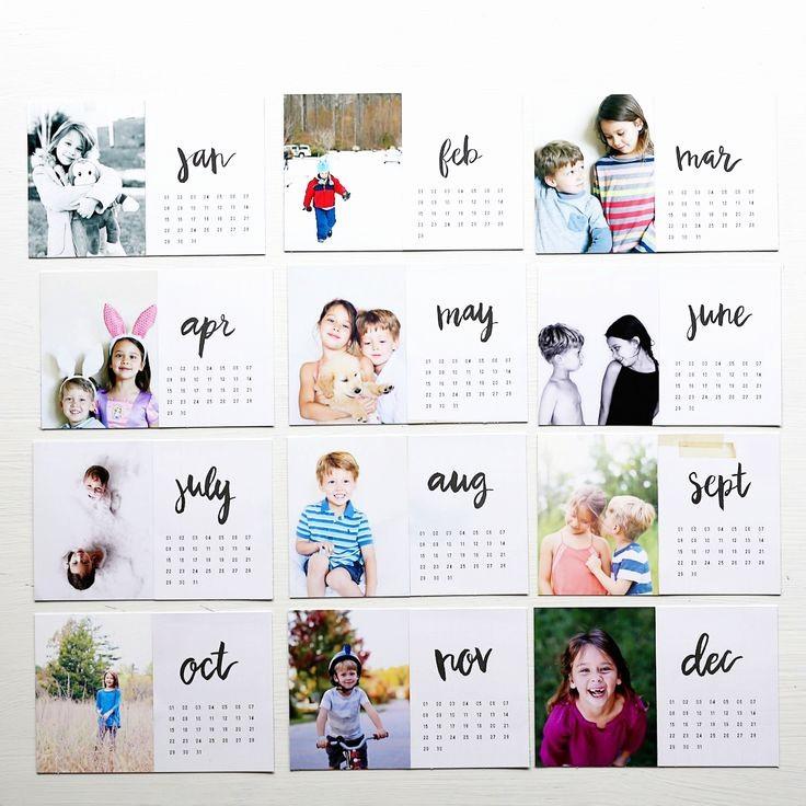 Make A Photo Calendar Free Inspirational 25 Best Ideas About Calendar On Pinterest