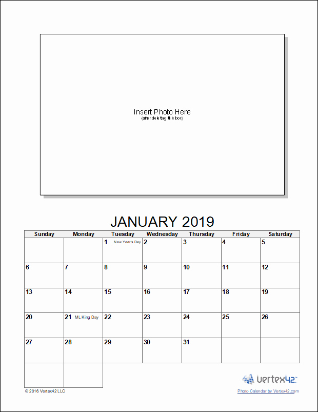 Make A Photo Calendar Free Lovely Calendar Template Create A Printable Calendar