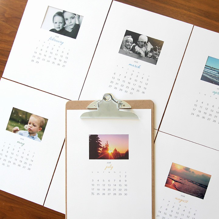 Make A Photo Calendar Free Unique 20 Fantastic Diy Photo Ts Perfect for Mother S Day or
