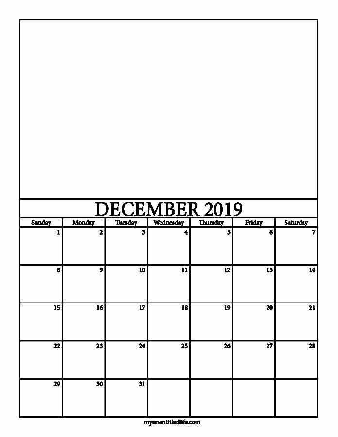 Make A Photo Calendar Free Unique 2019 Decorate Your Own Calendar Free Printable