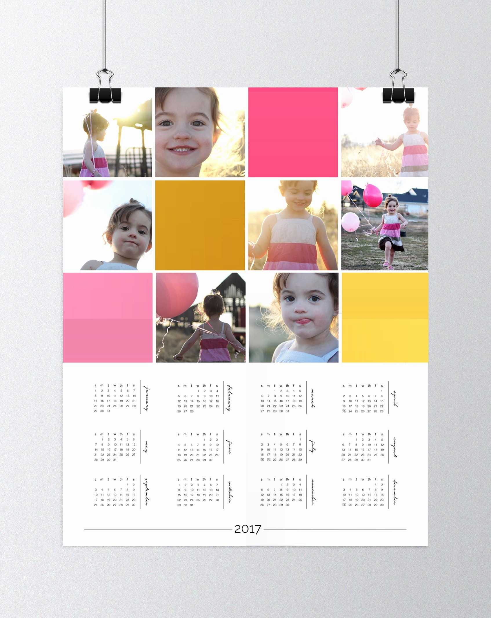 Make A Photo Calendar Free Unique Free Wall Calendar