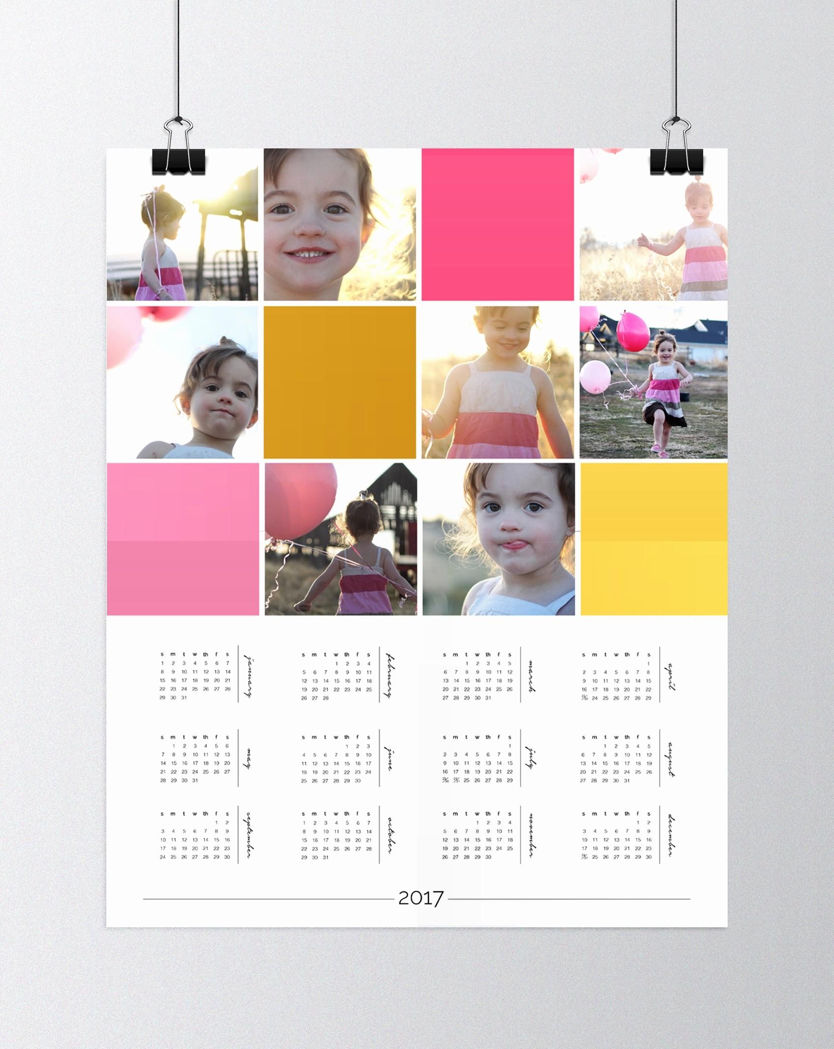 Make A Photo Calendar Free Unique Free Wall Calendar