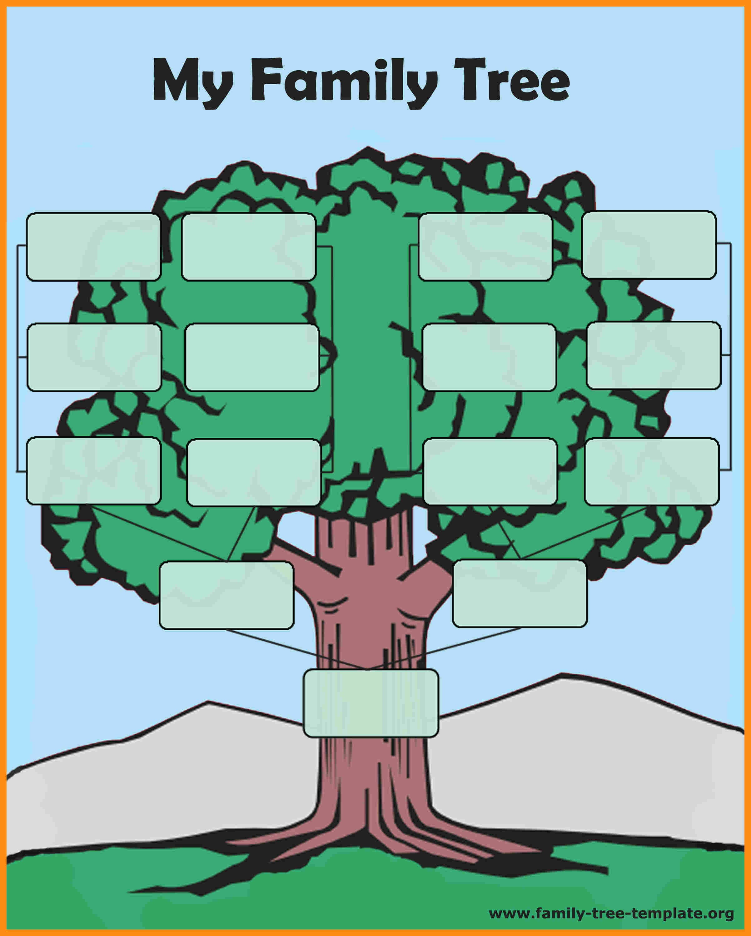 Make Family Tree In Word Awesome Template Family Tree Template