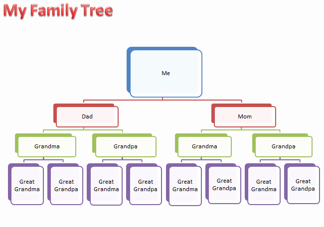 Make Family Tree In Word Best Of Make A Family Tree