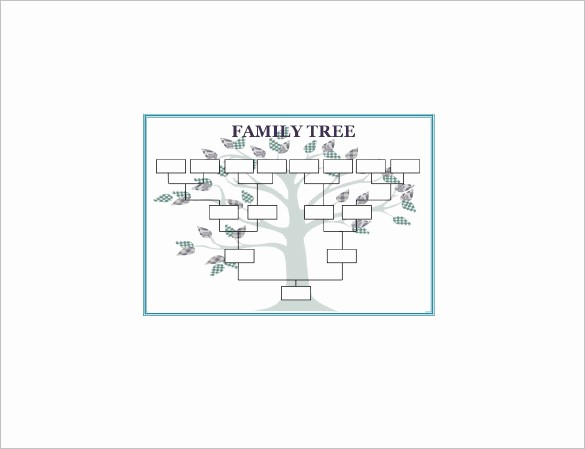 Make Family Tree In Word Fresh Family Tree Template 11 Free Word Excel format
