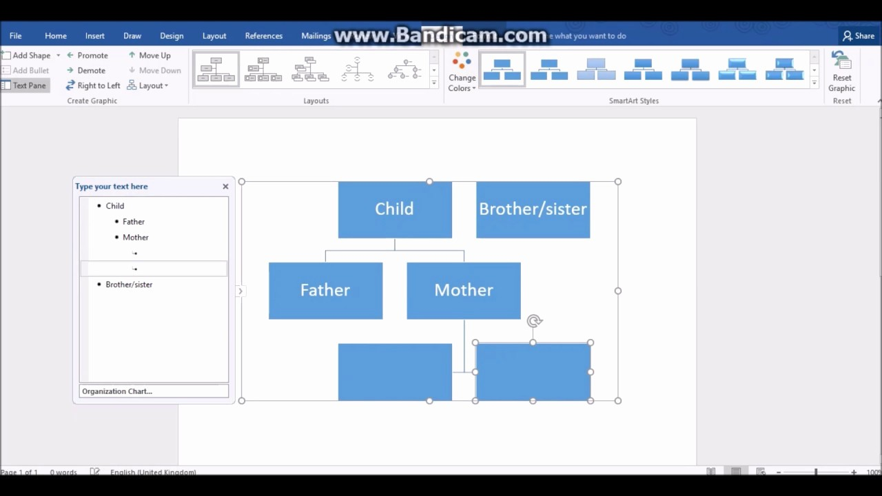 Make Family Tree In Word Fresh How to Make A Family Tree In Word 2016