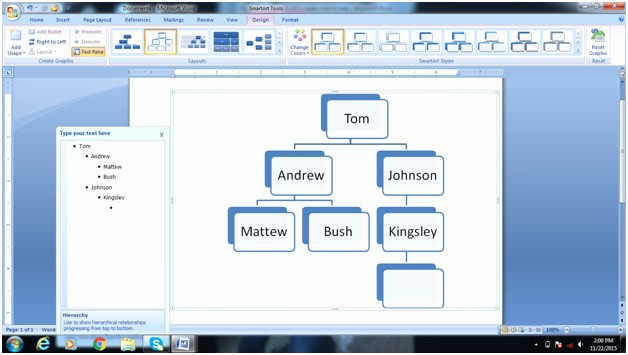 Make Family Tree In Word Inspirational How to Create A Family Tree In Microsoft Word – Tutorial