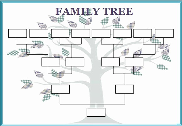 Make Family Tree In Word Unique 5 Family Tree Word Templates Excel Xlts