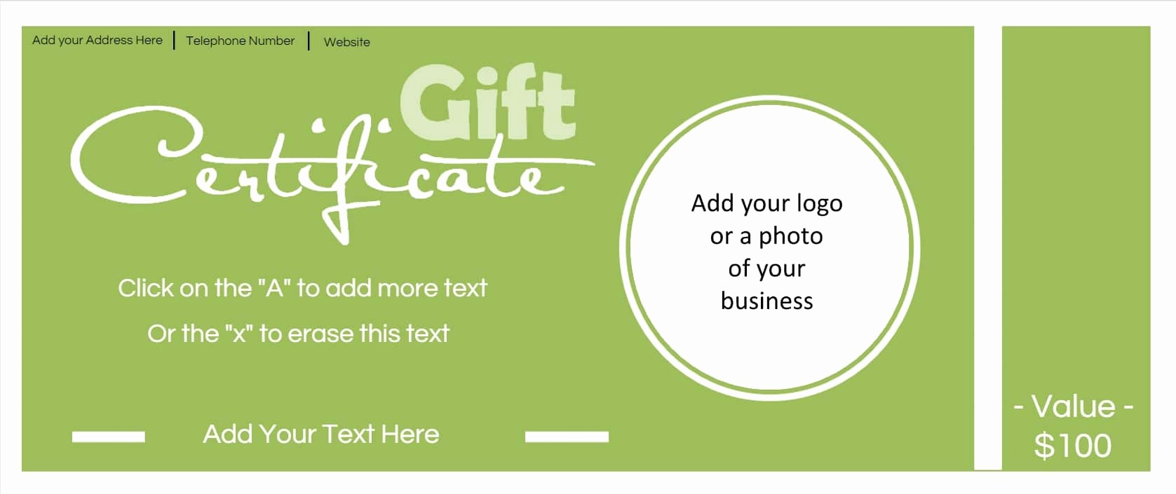 Make Gift Certificate Online Free Best Of 24 Exceptional Design Samples for Gift Vouchers Templates