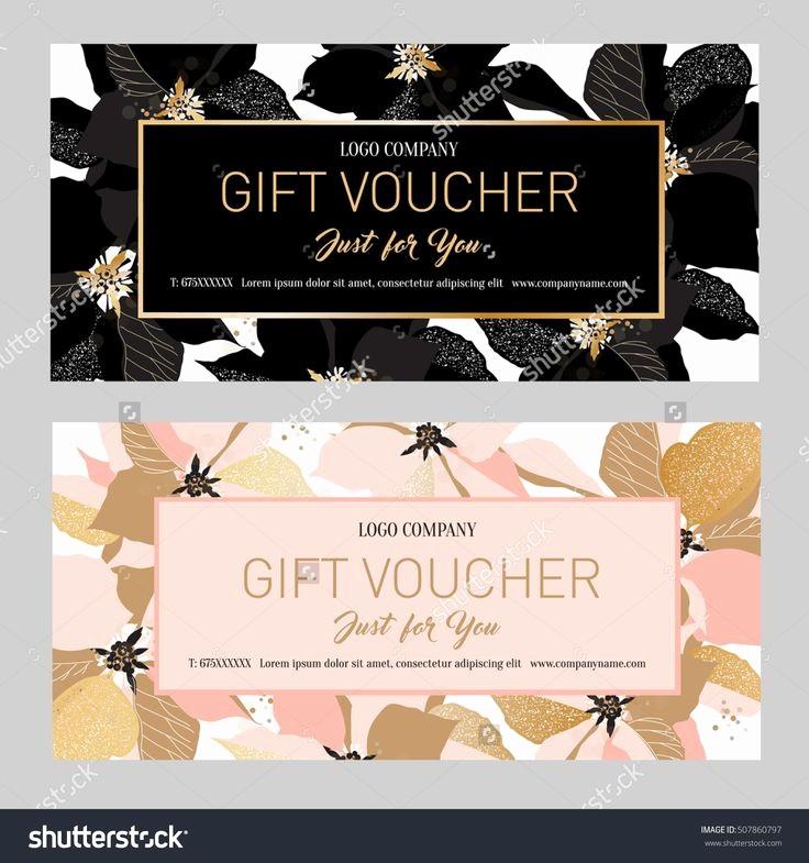 Make Gift Certificate Online Free Best Of Best 25 Gift Voucher Design Ideas On Pinterest