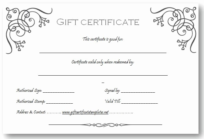 Make Gift Certificate Online Free Elegant Art Business T Certificate Template