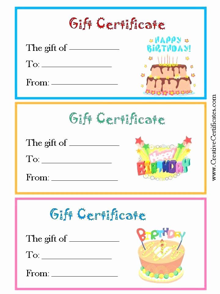 Make Gift Certificate Online Free Elegant Free Printable Gift Certificates Certificate Template