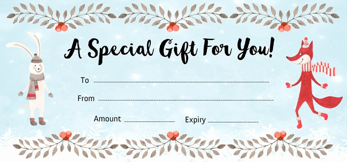 Make Gift Certificate Online Free Lovely Make Your Own Certificate