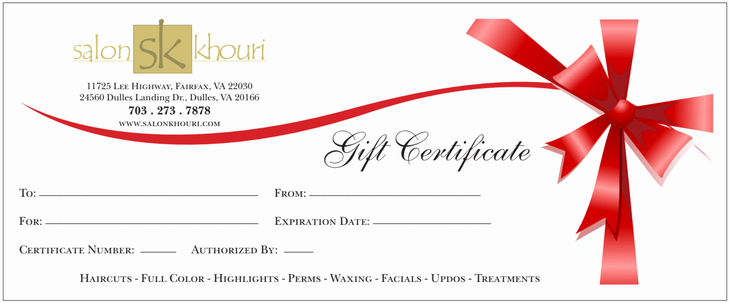 Make Gift Certificate Online Free New Gift Certificate Templates