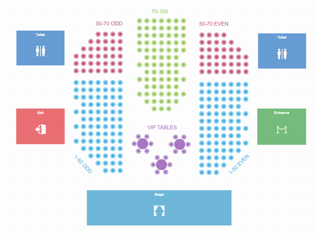 Make Seating Chart Online Free Beautiful Sell Tickets to Your events with Tickera the Most Feature