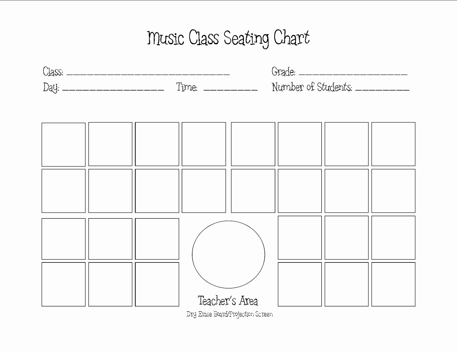 Make Seating Chart Online Free Fresh Seating Chart Templates Bamboodownunder