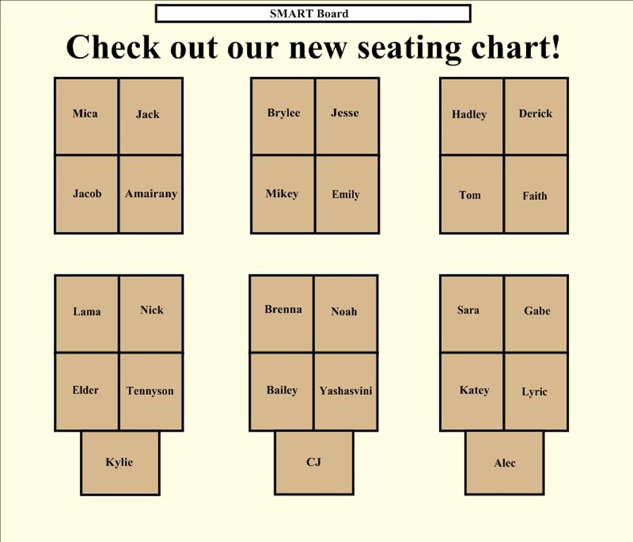 Make Seating Chart Online Free Inspirational 40 Great Seating Chart Templates Wedding Classroom More
