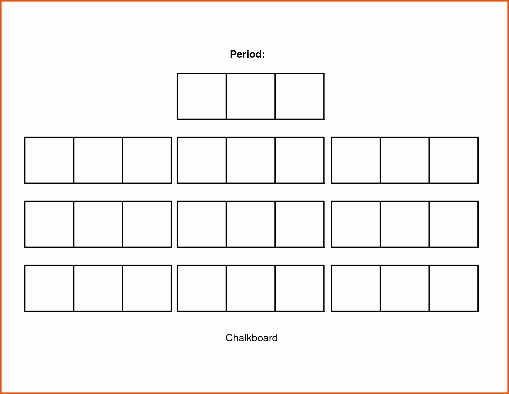 Make Seating Chart Online Free Lovely Classroom Seating Arrangement Templates