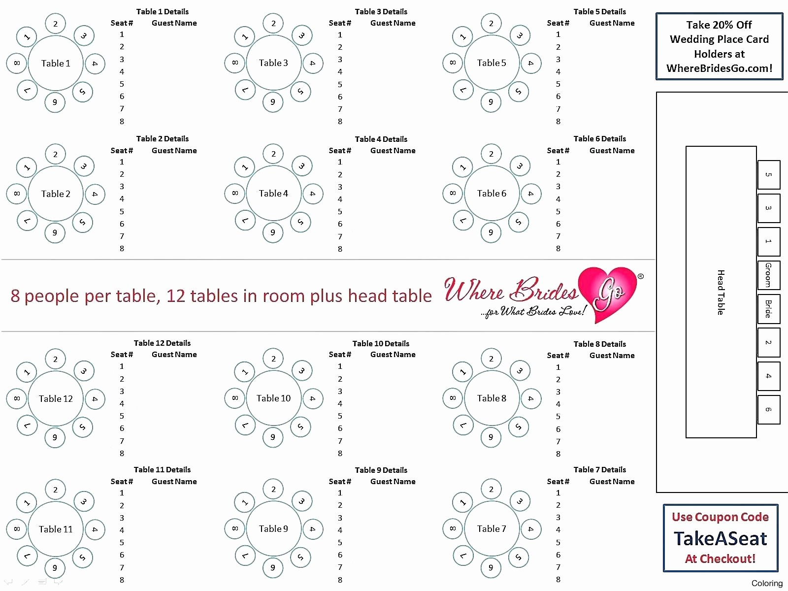 Make Seating Chart Online Free New Restaurant Seating Chart Template