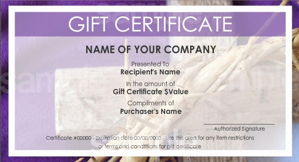 Make Up Gift Certificate Template Awesome T Certificate Templates to Make Your Own Certificates