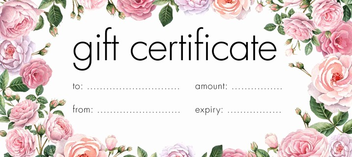 Make Up Gift Certificate Template Lovely Duterte Approves Law Prohibiting Expiration Of T Checks