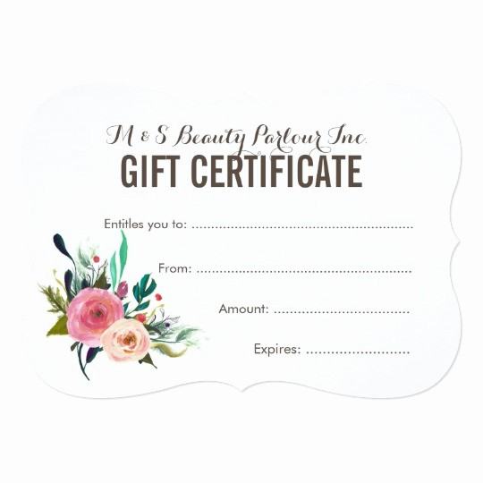 Make Up Gift Certificate Template Unique Make Up Voucher Template Templates Station
