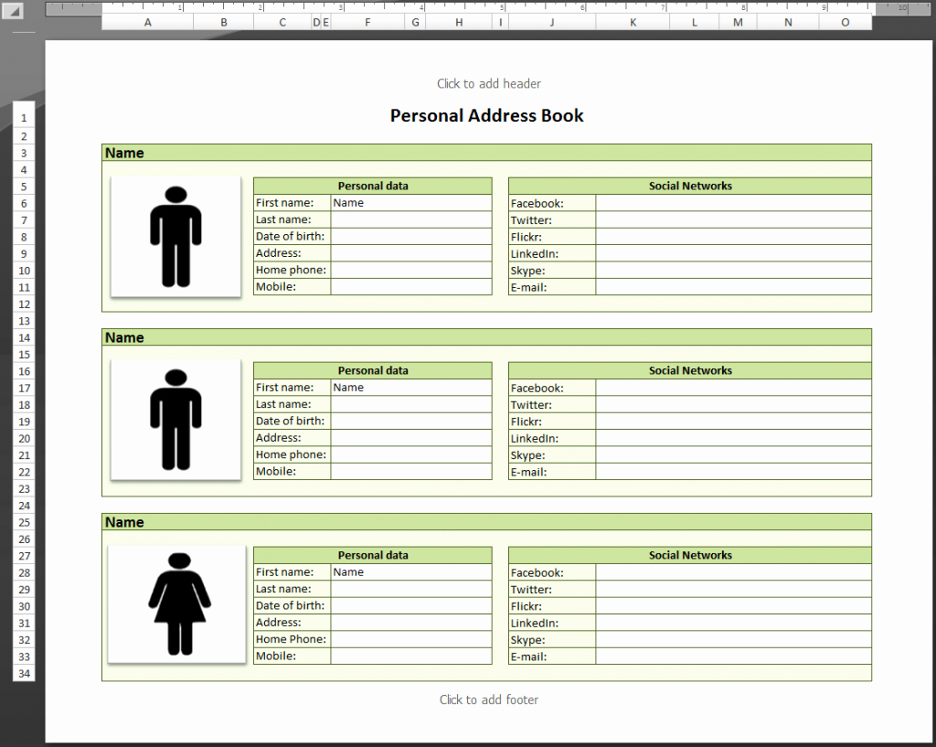 Make Your Own Address Book Inspirational Best S Personal Phone Directory Template Microsoft